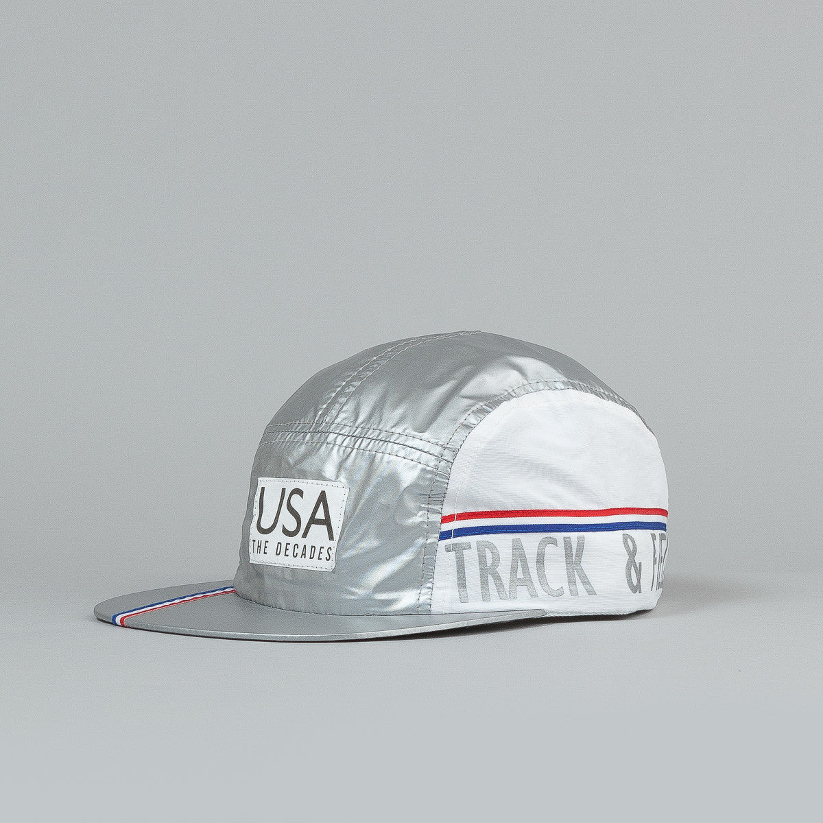 The Decades Silver Medal 5 Panel Cap