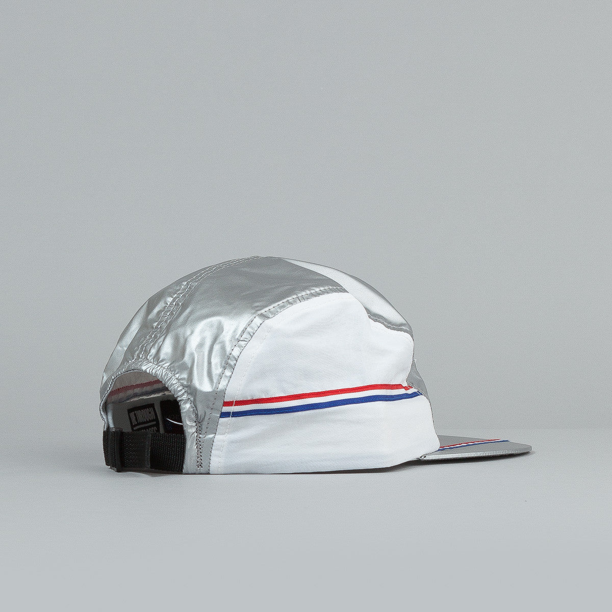 The Decades Silver Medal 5 Panel Cap - Silver