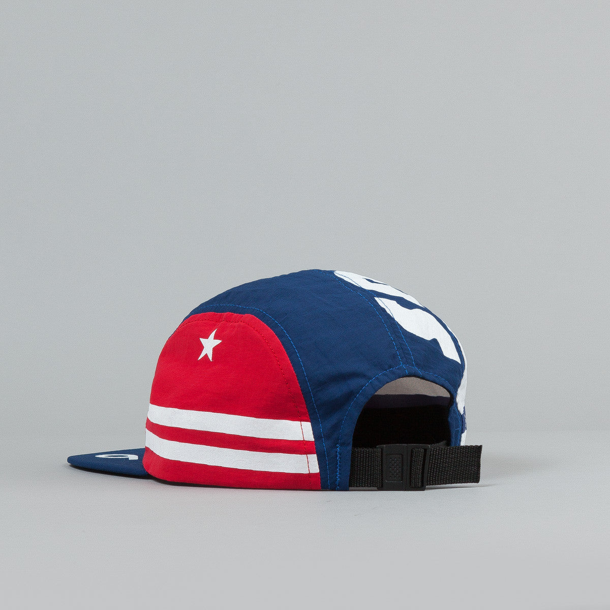The Decades Spirit of '76 4 Panel Cap - Navy / Red / White Nylon