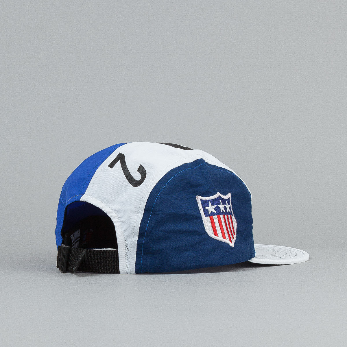 The Decades Summer Games 4 Panel Cap - White / Blue