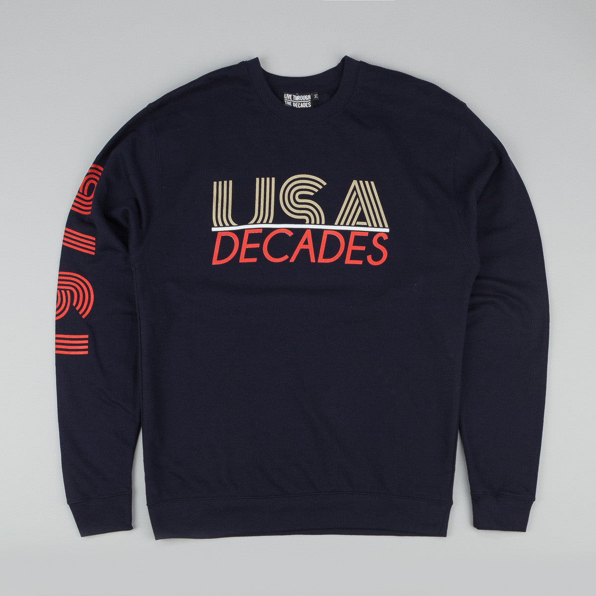 The Decades 'Team USA' Crew Neck Sweatshirt