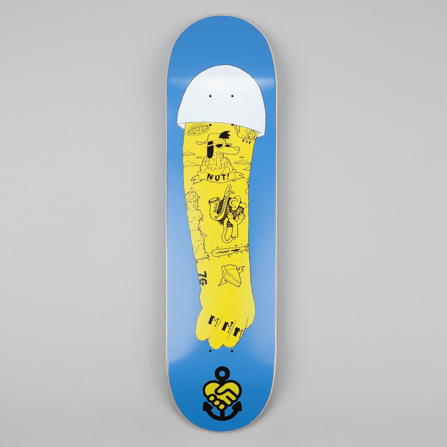 The Friend Ship La Vida Homer Left Deck 8.25""