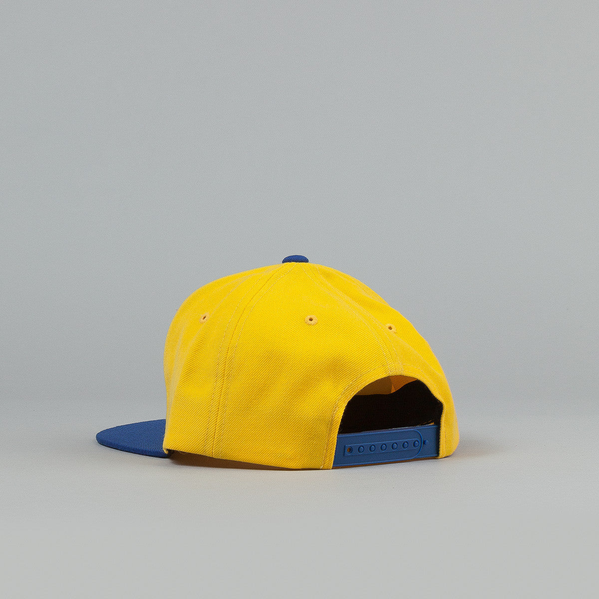 The Hundreds Blinds Snapback Cap - Blue / Yellow