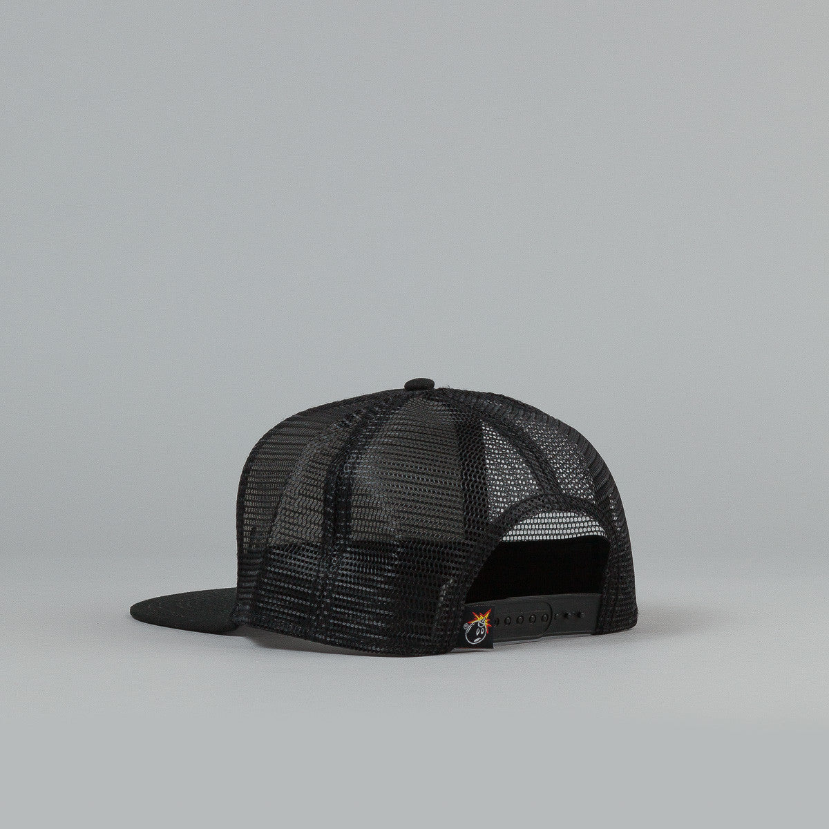 The Hundreds Board Meshed Snapback Cap - Black