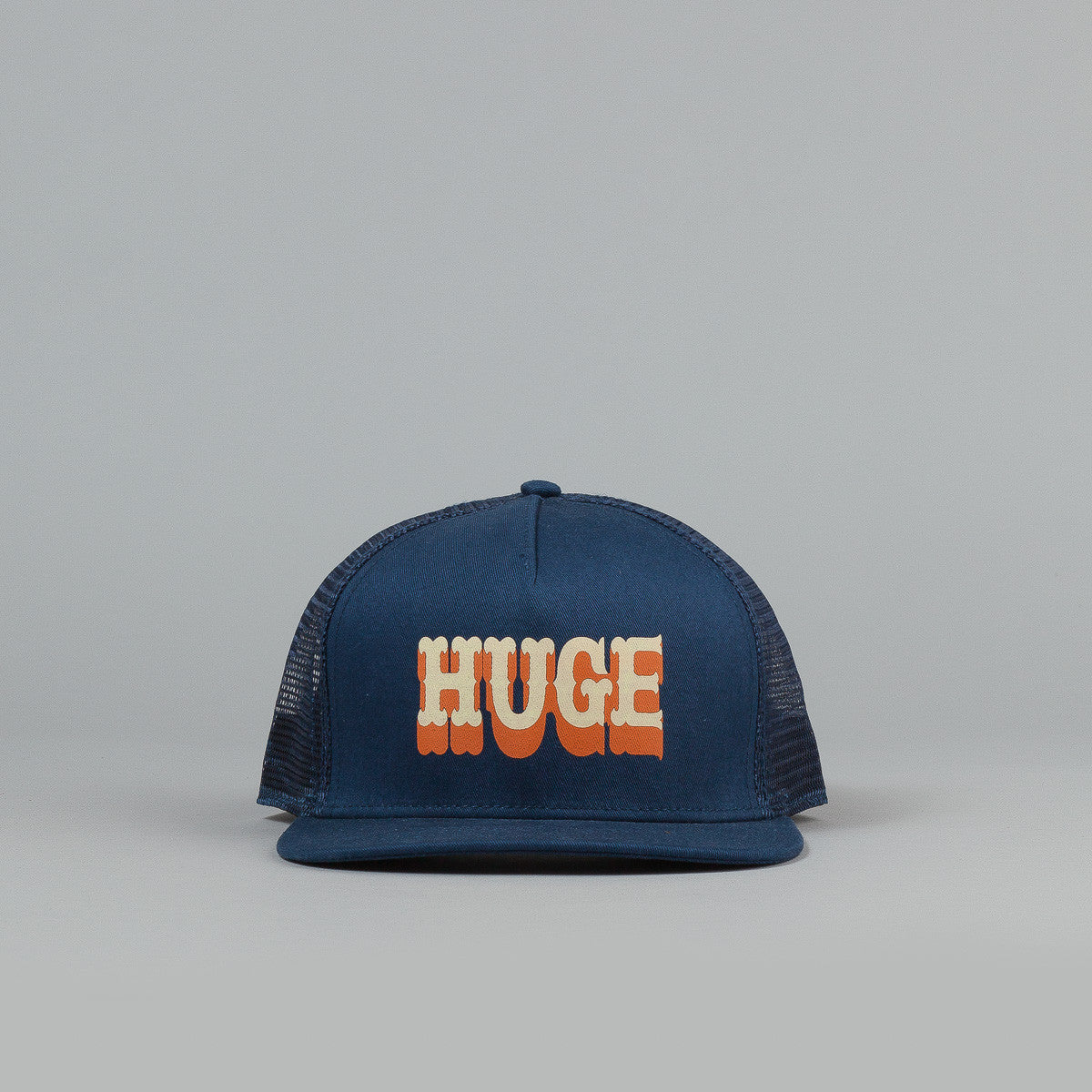 The Hundreds Board Meshed Snapback Cap - Navy