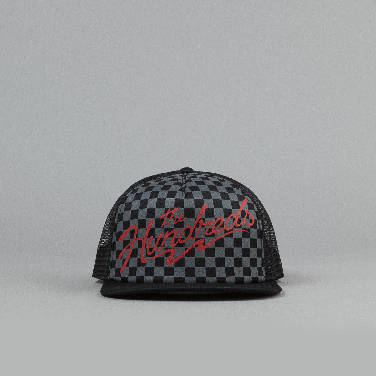 The Hundreds Crest Meshed Snapback Cap - Black