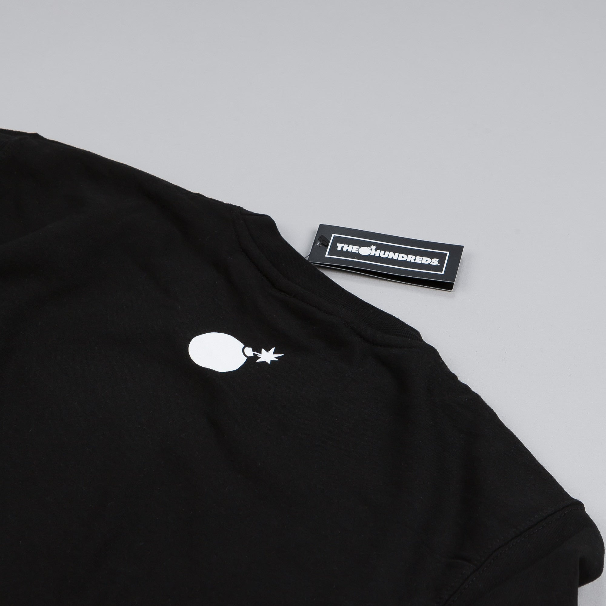 The Hundreds Forever Bar Crew Neck Sweatshirt Black