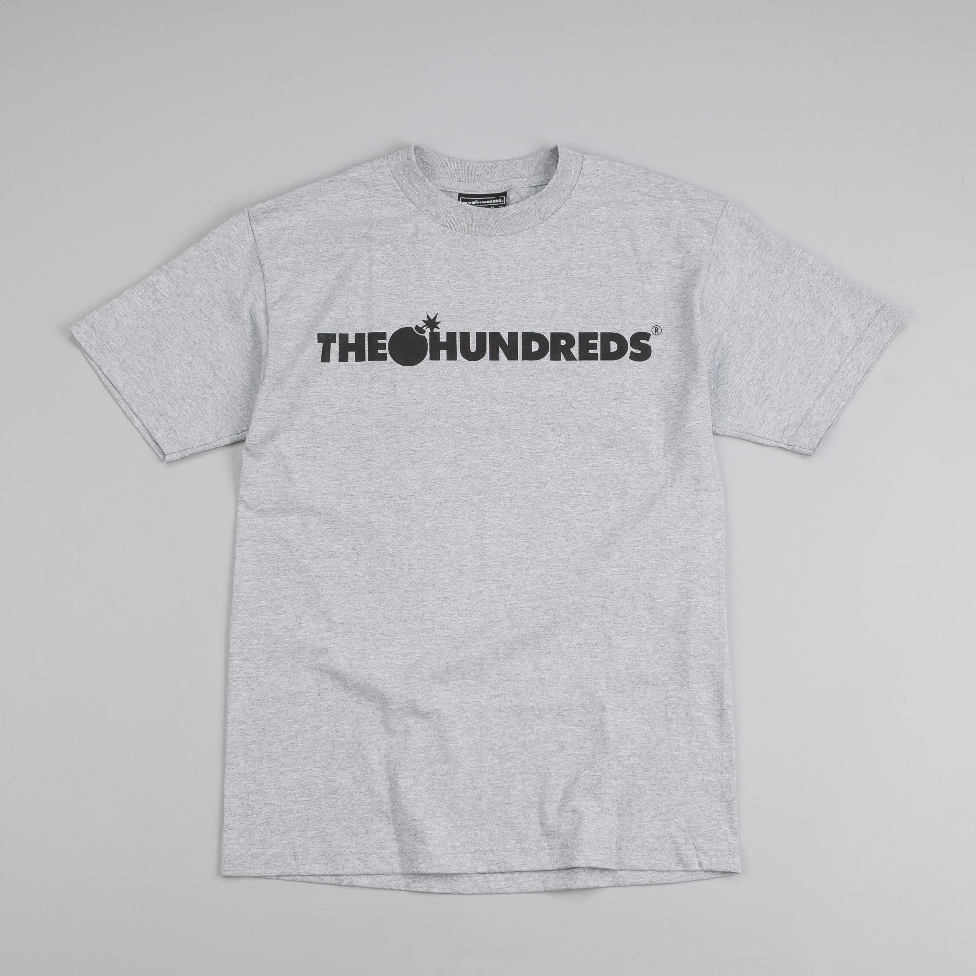 The Hundreds Forever Bar T Shirt Athletic Heather