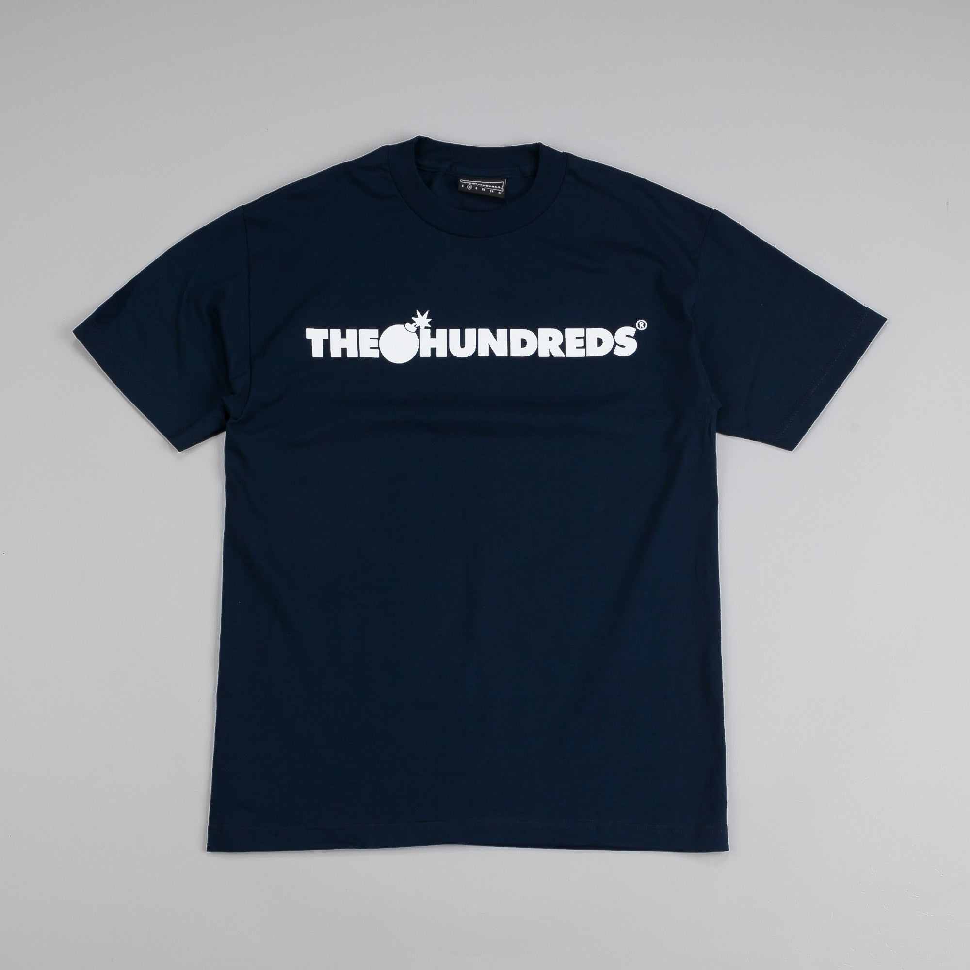 The Hundreds Forever Bar T Shirt Navy