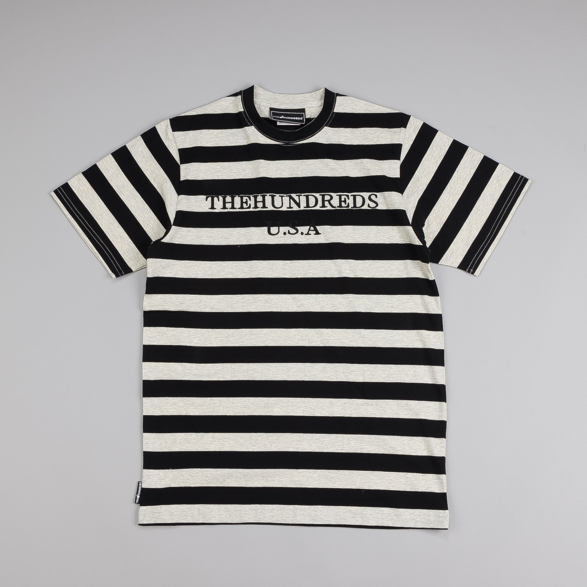 The Hundreds Forties T Shirt Ash Heather