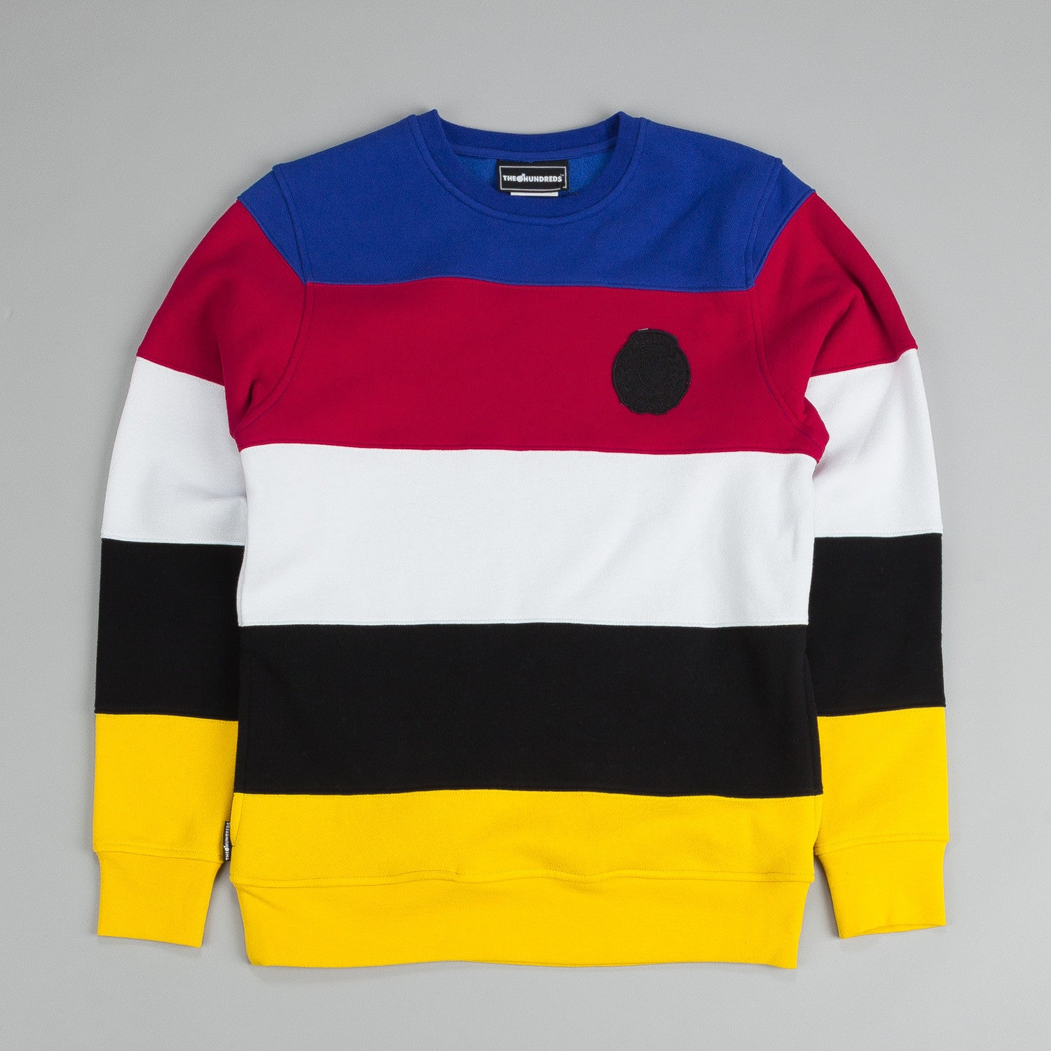 The Hundreds Get Up Crew Crew Neck Blue