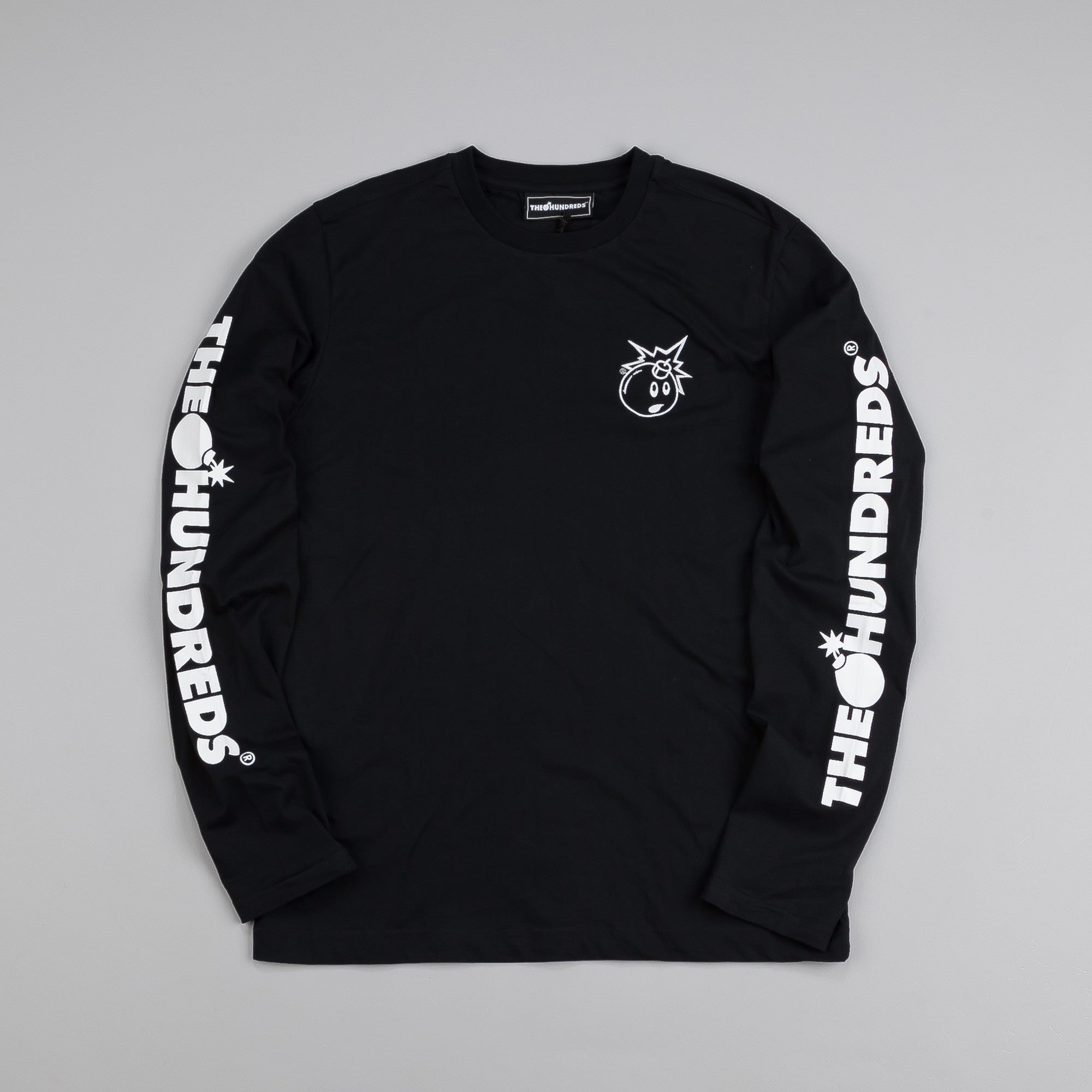 The Hundreds Hyper L/S T Shirt Black