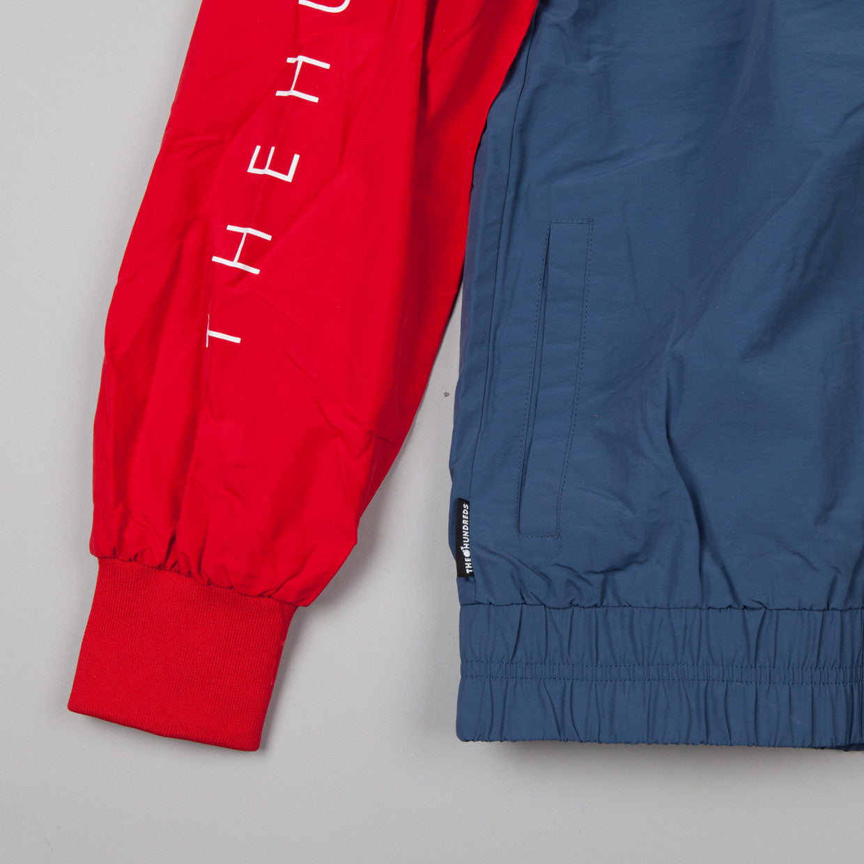 The Hundreds Latitude Jacket Red