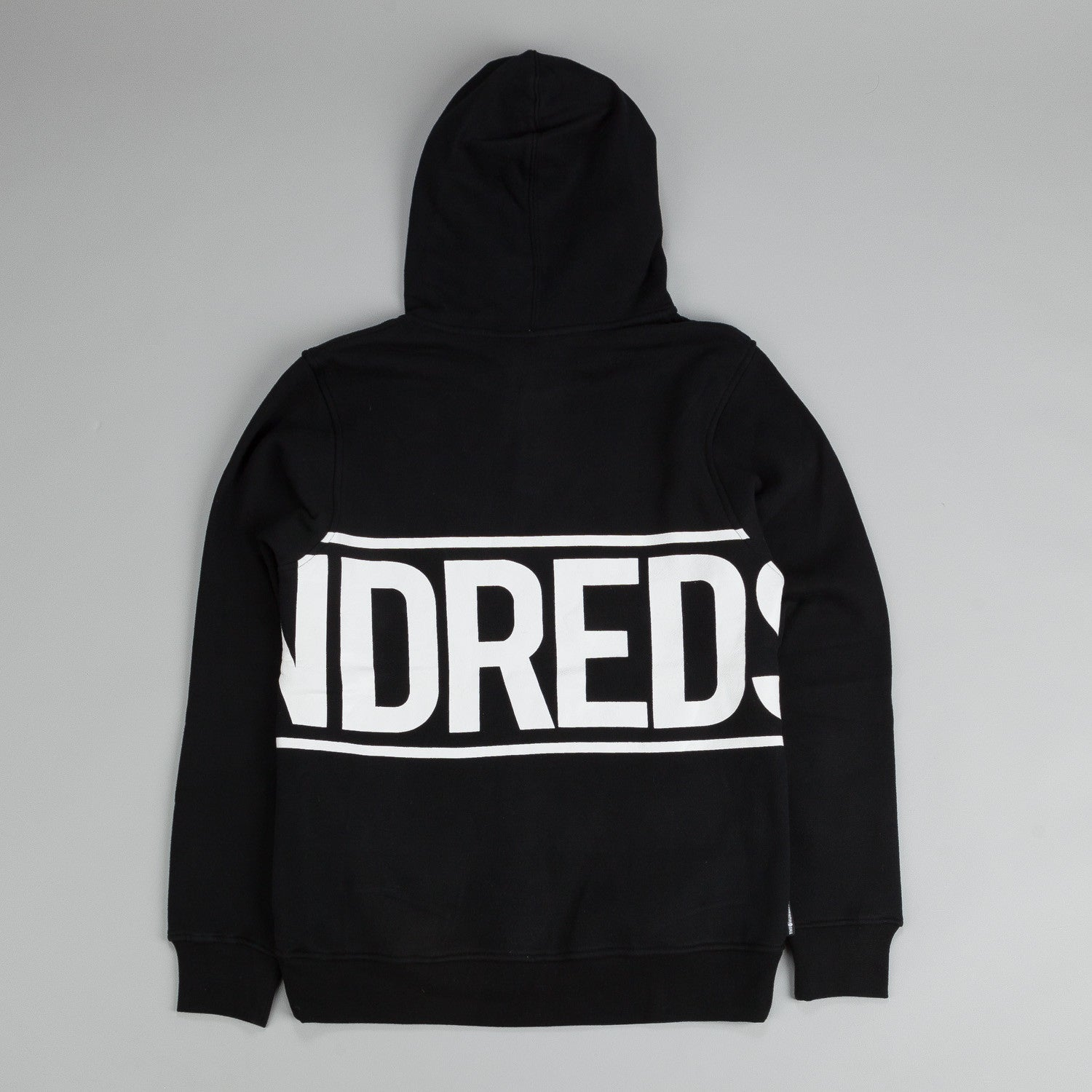 The Hundreds Rap Around Pullover Hoody Black