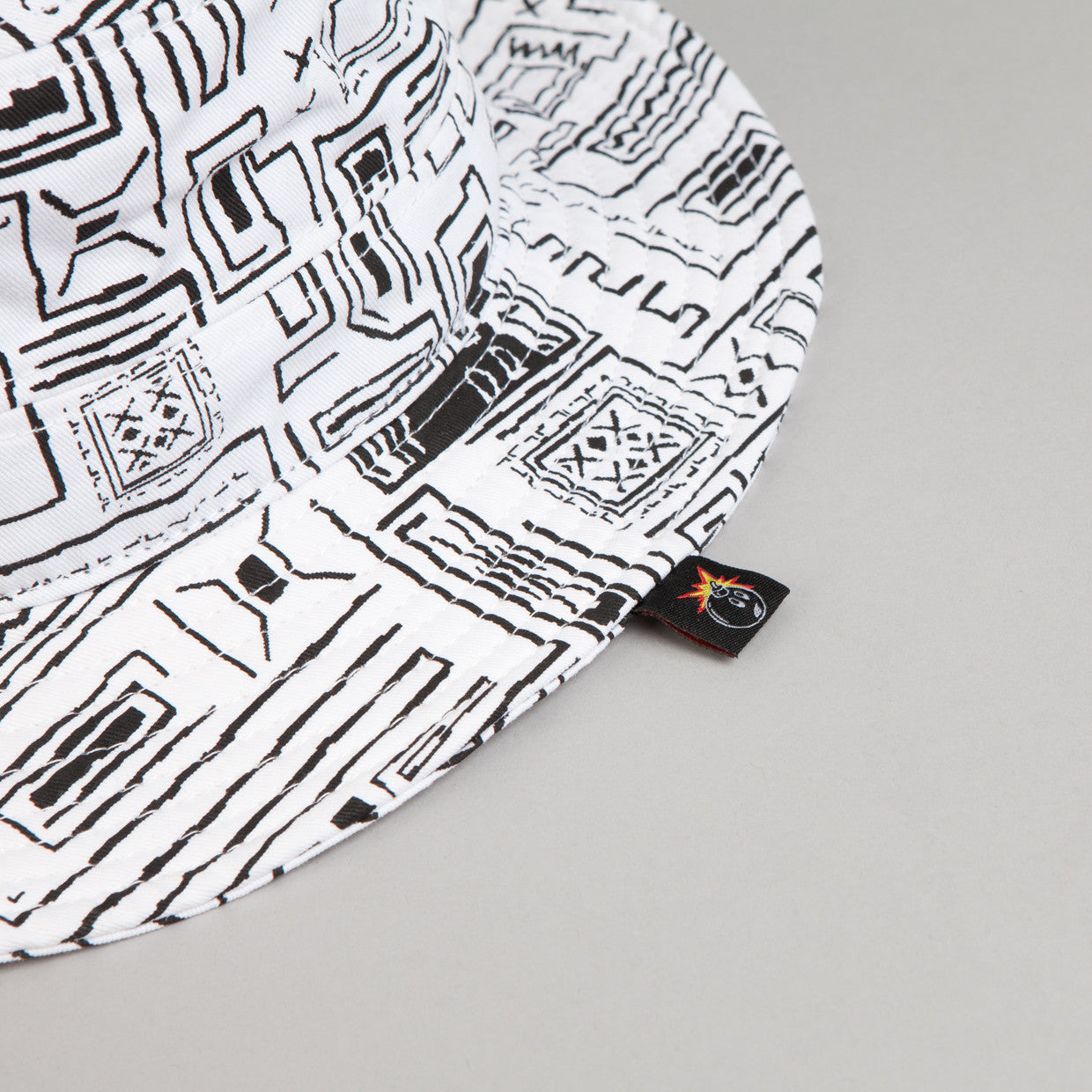 The Hundreds Safa Bucket Hat White