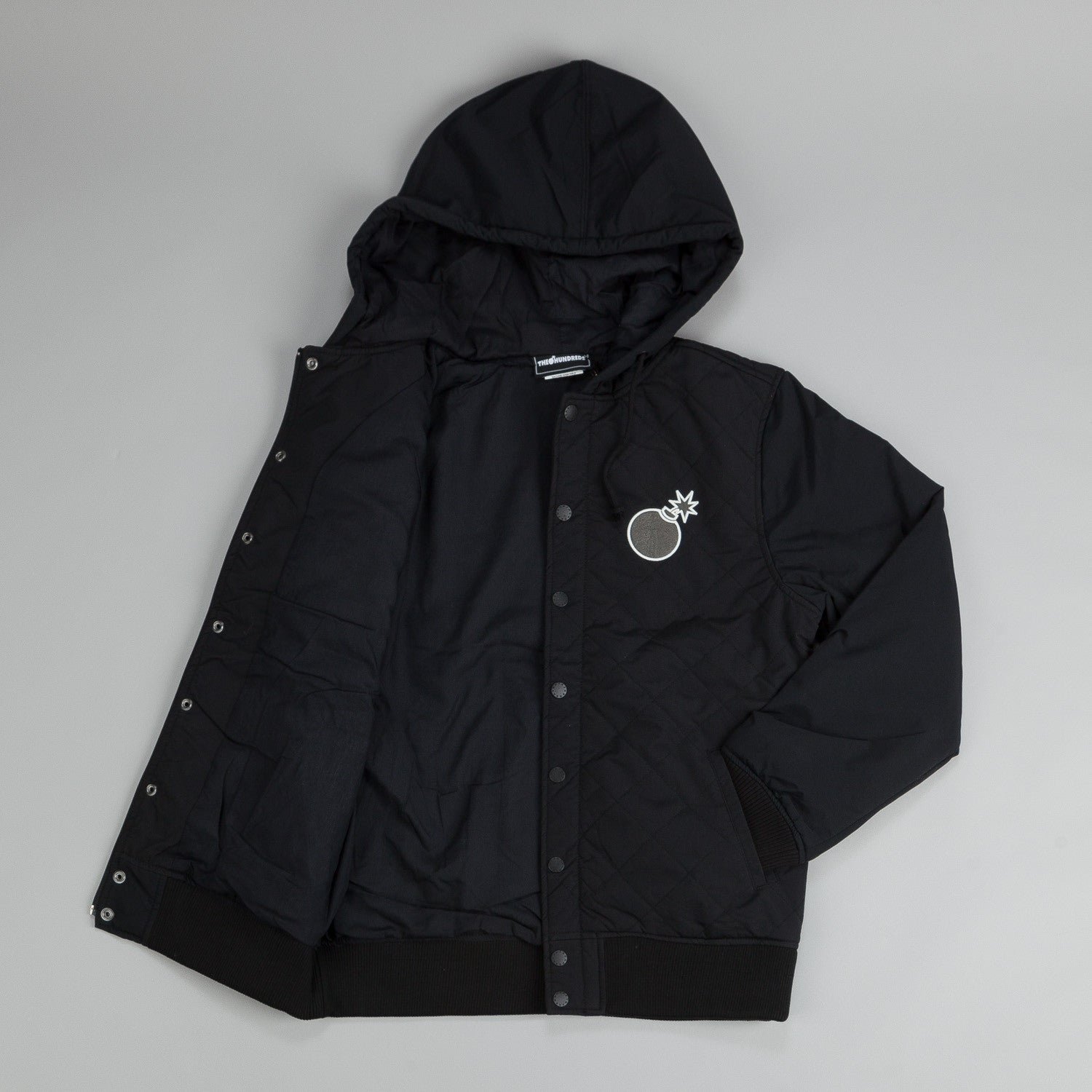 The Hundreds Tour Jacket Black