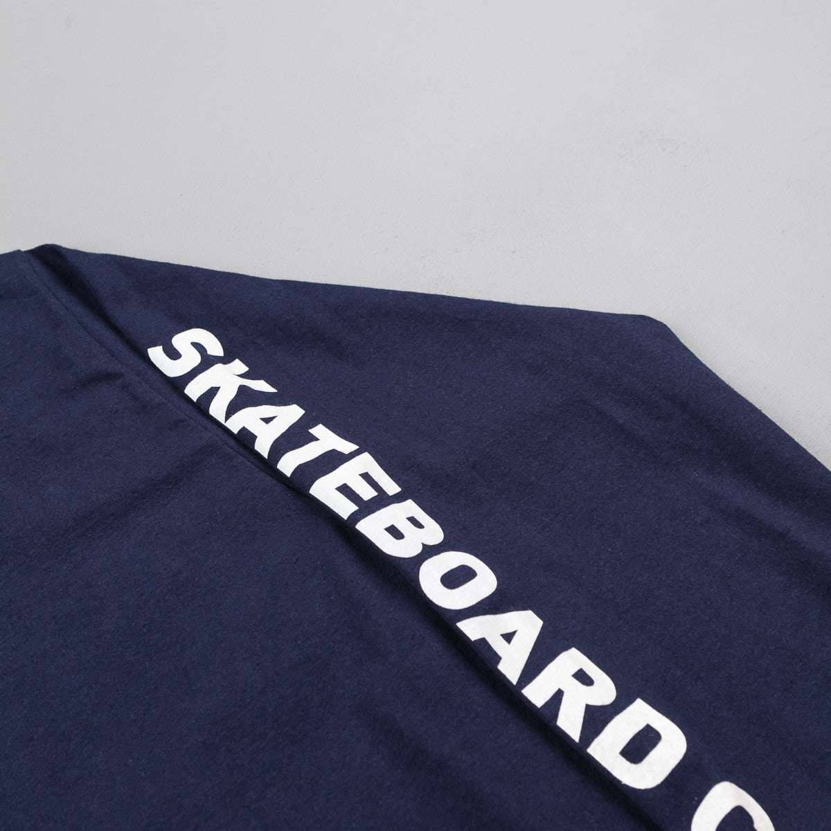 The National Skateboard Co Corp Long Sleeve T-Shirt - Navy