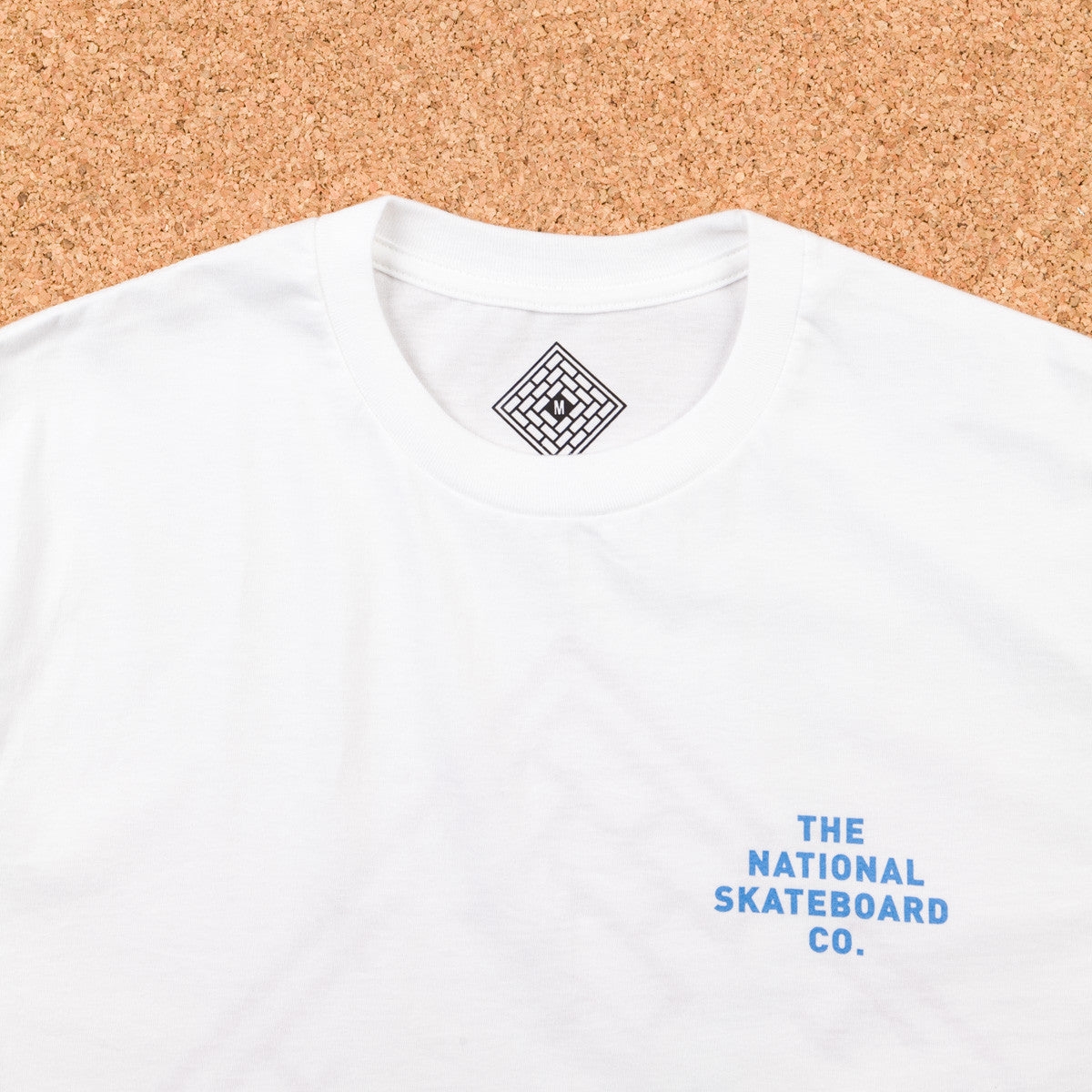The National Skateboard Co Bastille T-Shirt - White
