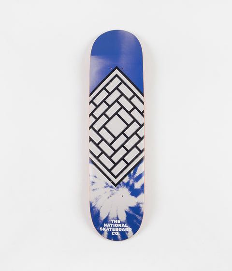 The National Skateboard Co Classic Deck - Blue / High Concave - 8""