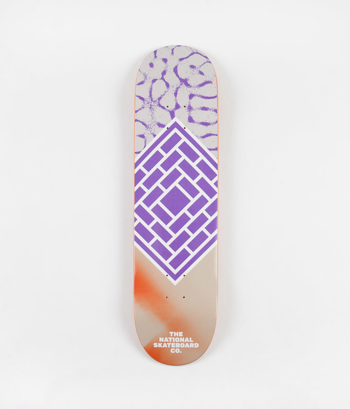 The National Skateboard Co Classic Deck - Purple / Medium Concave - 8.125""