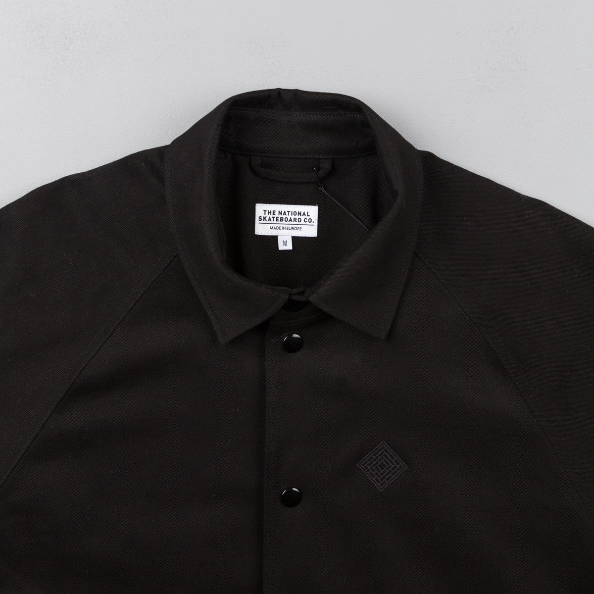 The National Skateboard Co Classic Jacket - Black