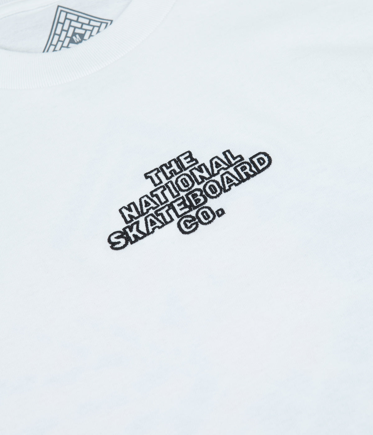 The National Skateboard Co Classic Logo T-Shirt - White