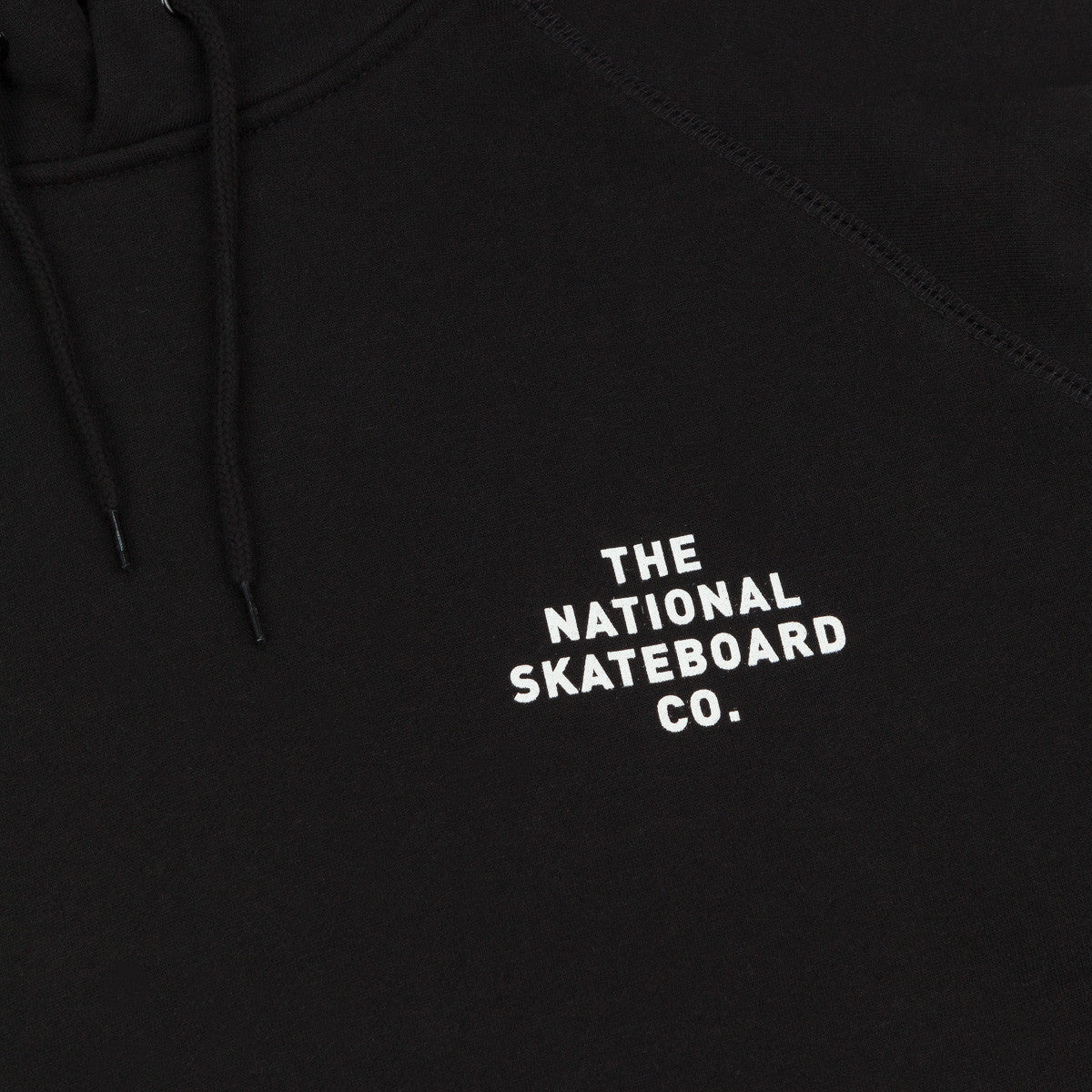 The National Skateboard Co Division Hooded Sweatshirt - Black