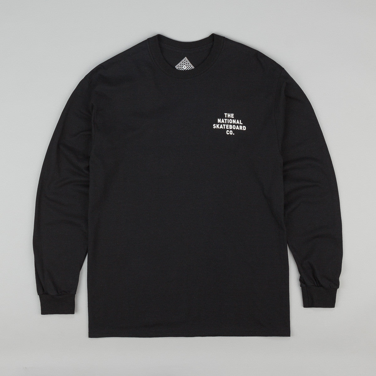 The National Skateboard Co Division Long Sleeve T-Shirt - Black
