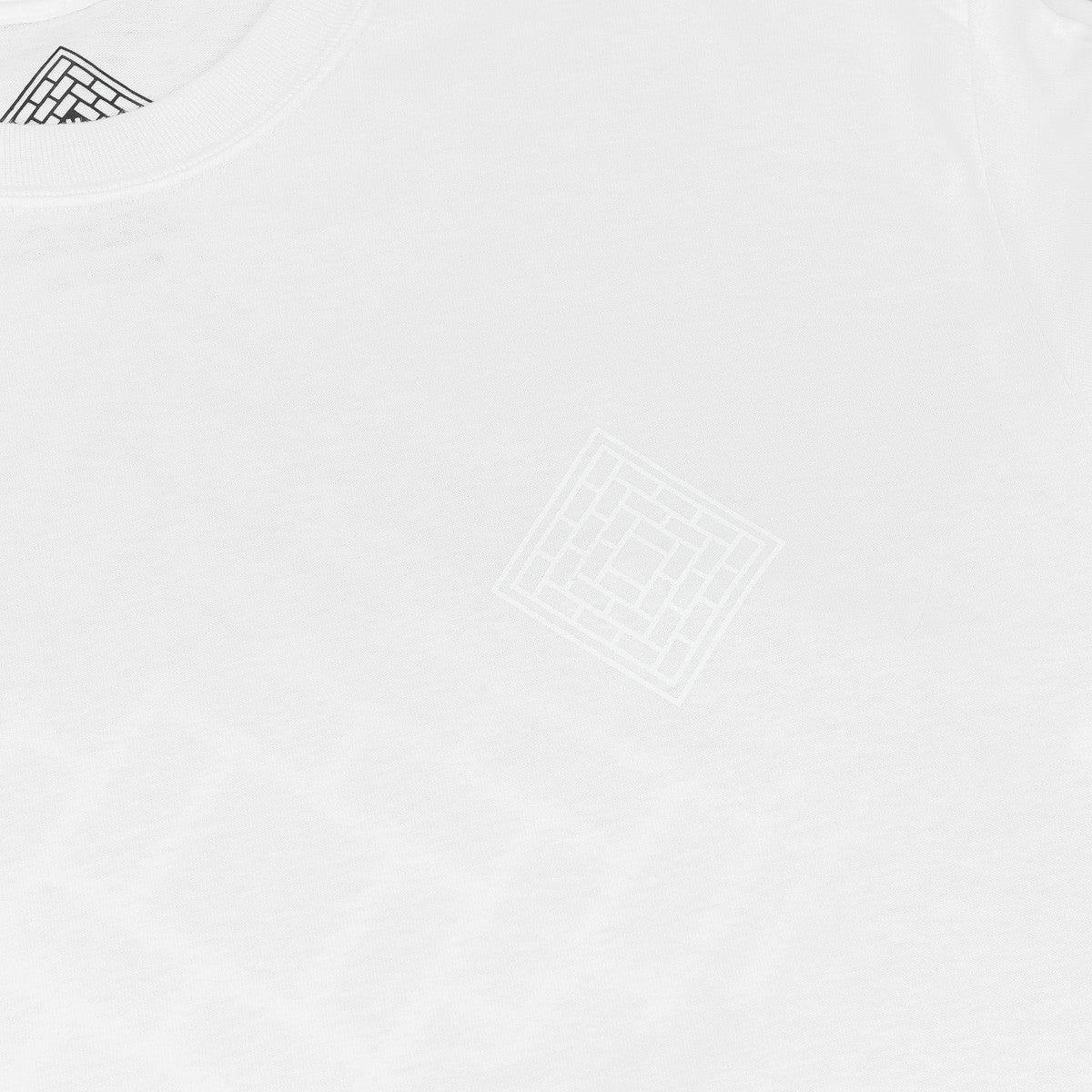 The National Skateboard Co Division Long Sleeve T-Shirt - White