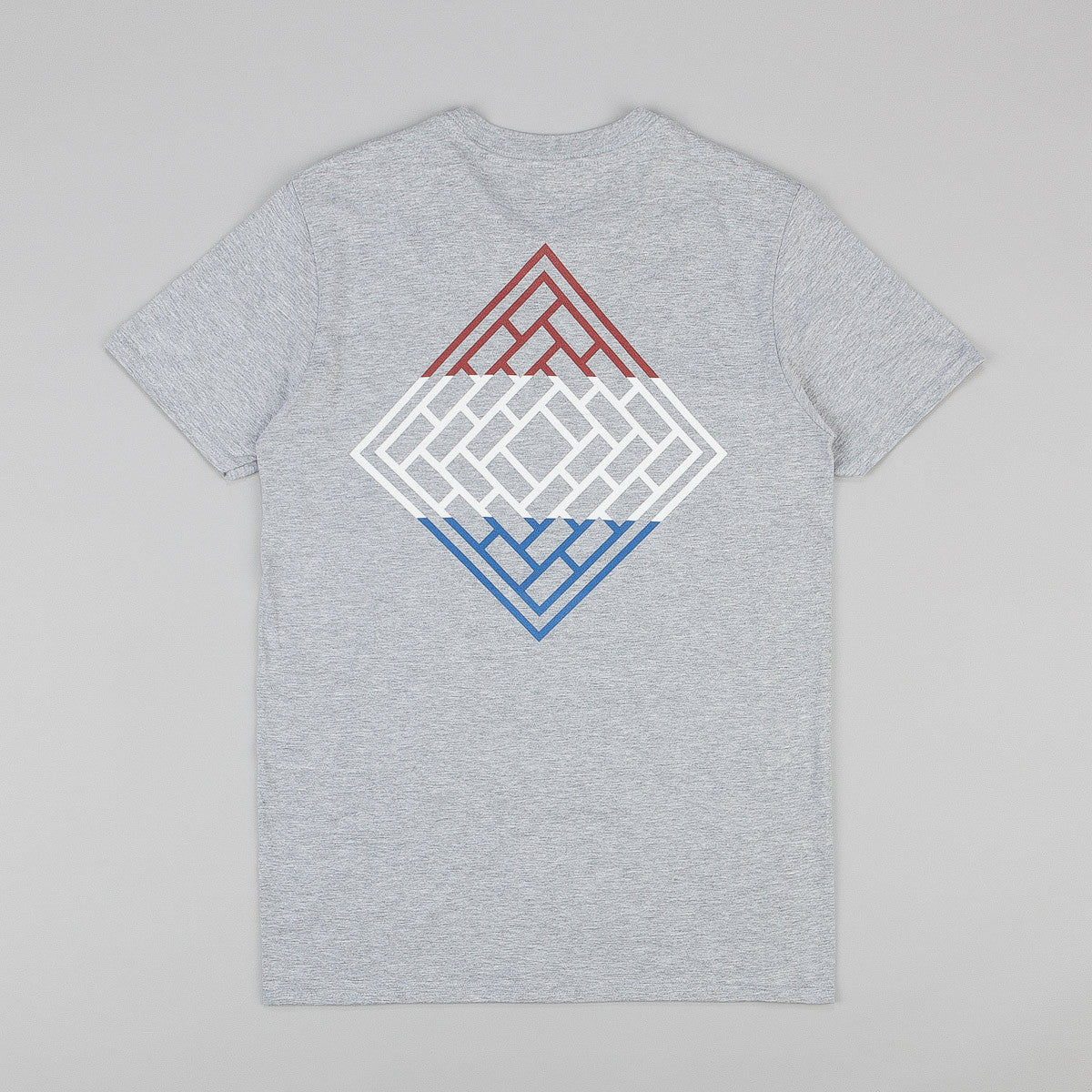 The National Skateboard Co Division T-Shirt - Heather Grey