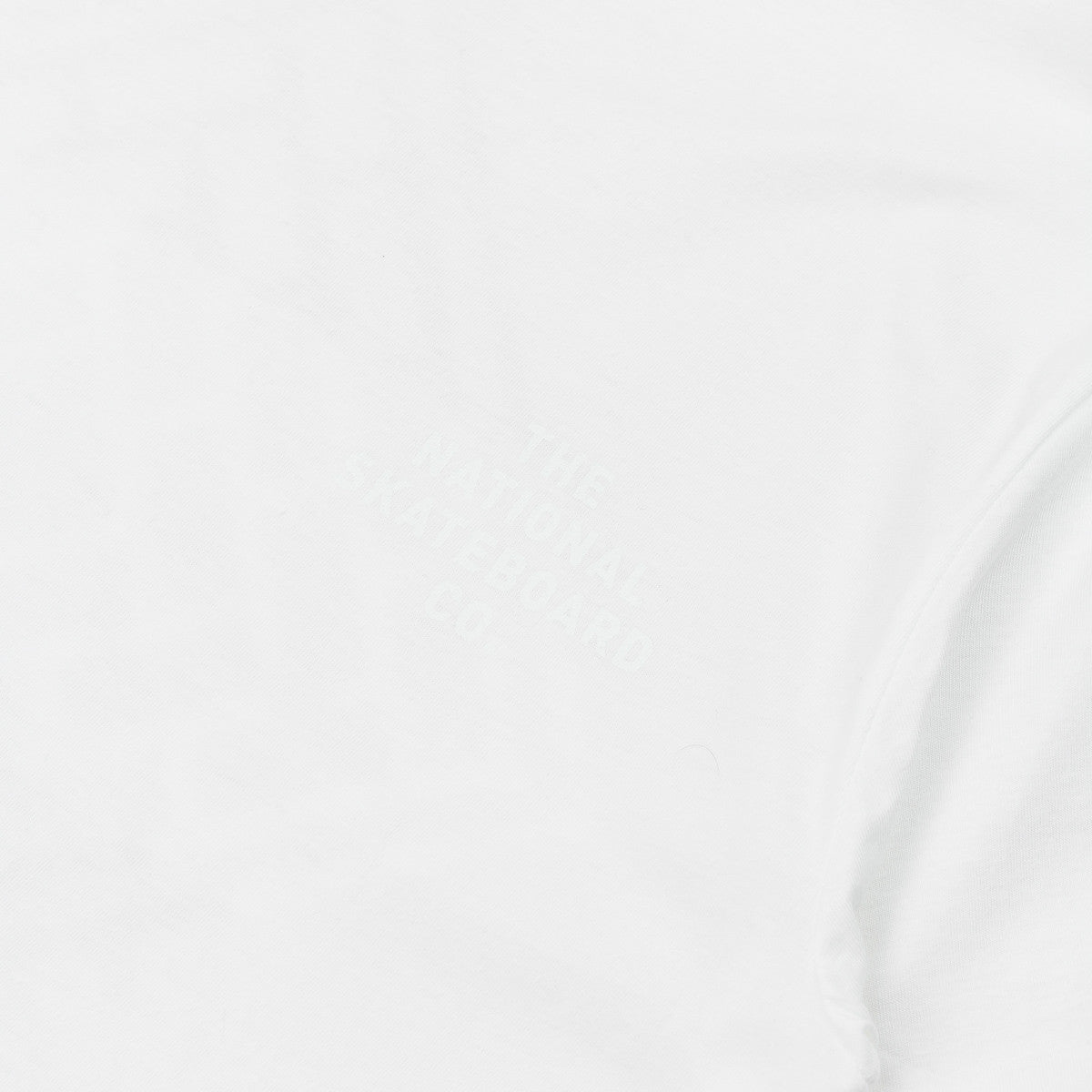 The National Skateboard Co Division T-Shirt - White