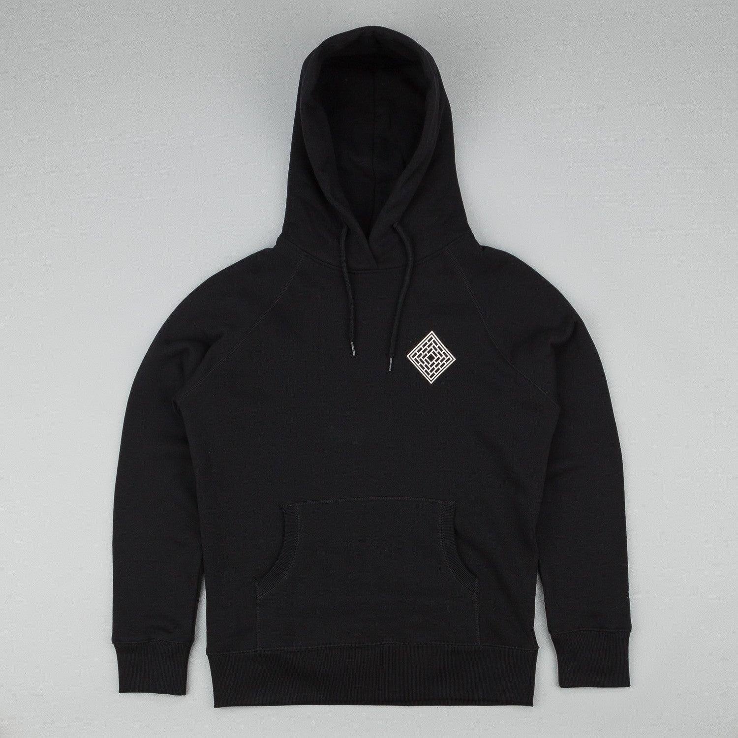 The National Skateboard Co Mono Logo Hooded Sweatshirt - Black