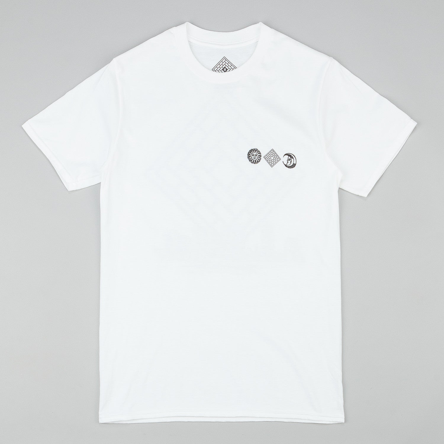 The National Skateboard Co Monolith T-Shirt - White