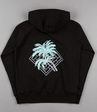 The National Skateboard Co Palm Hooded Sweatshirt - Black