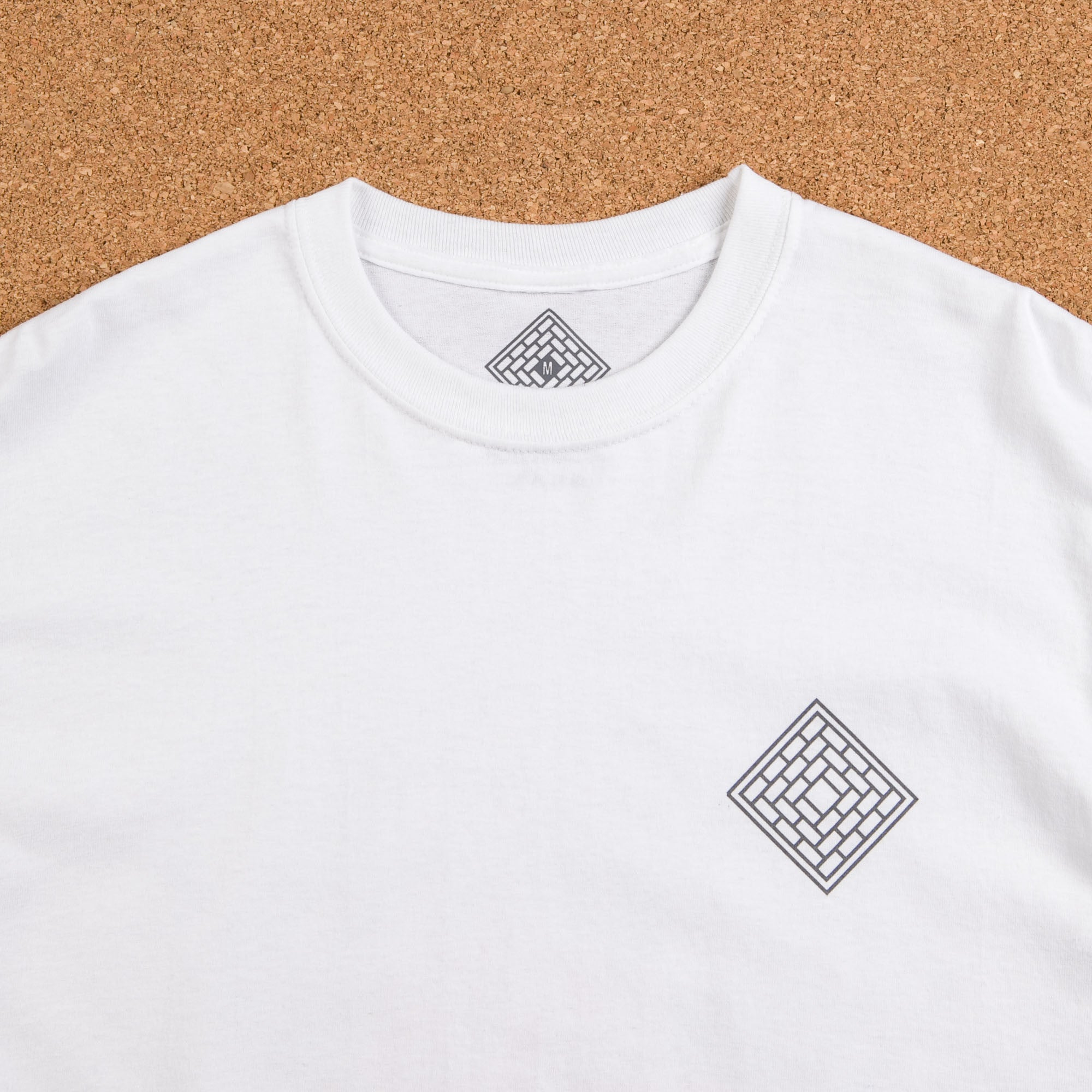 The National Skateboard Co Rose Long Sleeve T-Shirt - White