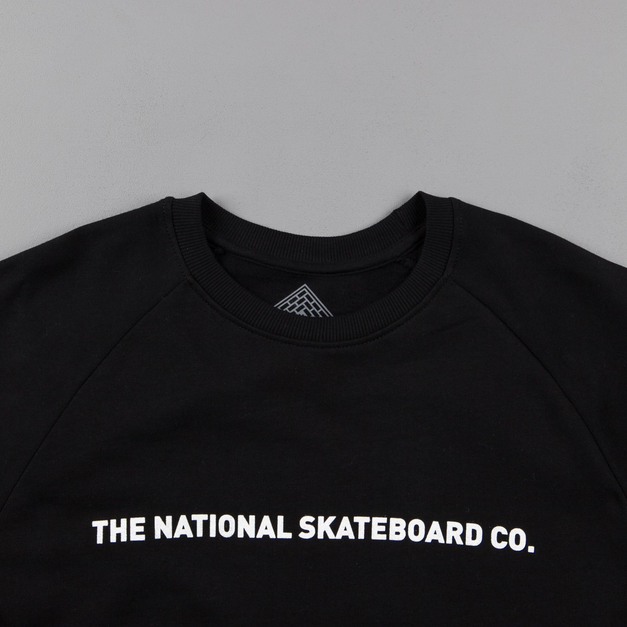 The National Skateboard Co Sea Crewneck Sweatshirt - Black