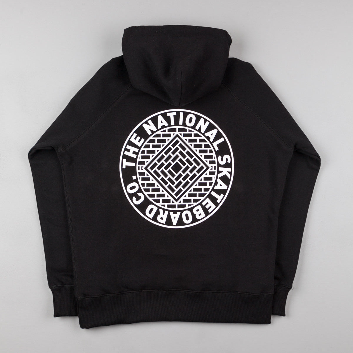 The National Skateboard Co Union Hooded Sweatshirt - Black