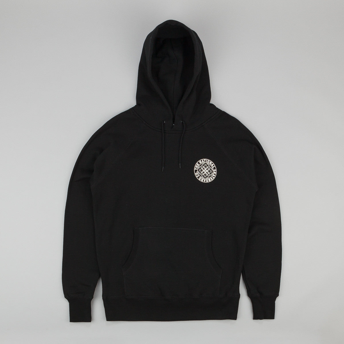 The National Skateboard Co Universal Hooded Sweatshirt - Black