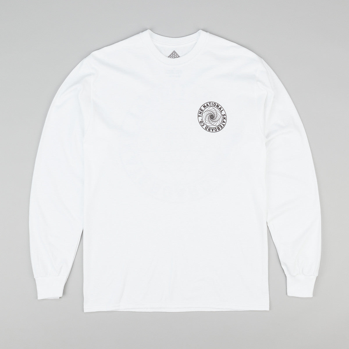 The National Skateboard Co Universal Long Sleeve T-Shirt - White