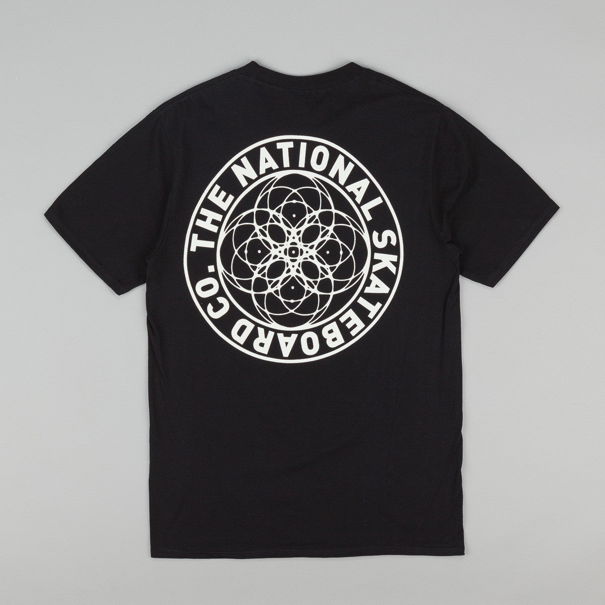The National Skateboard Co Universal T-Shirt - Black