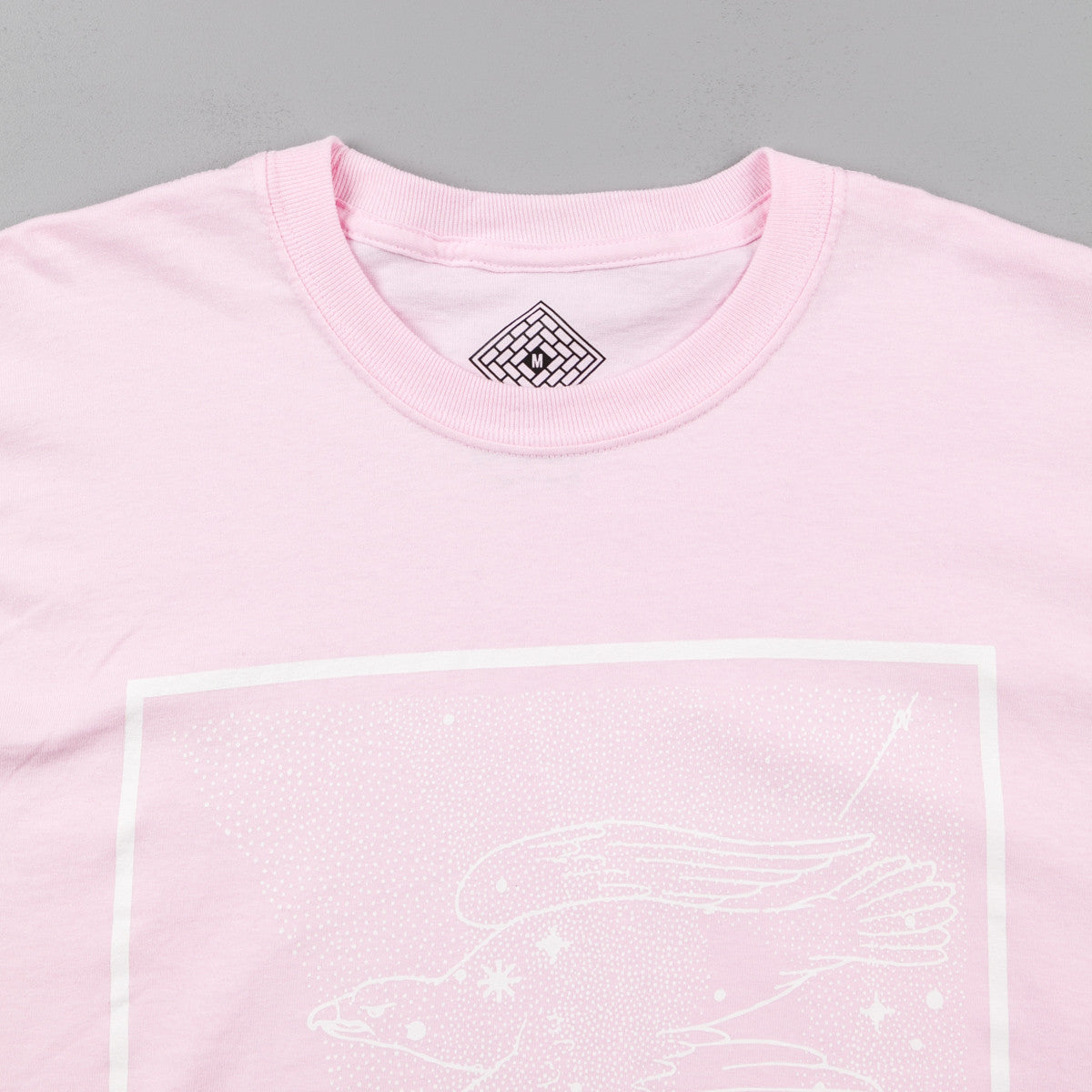 The National Skateboard Co Universe Long Sleeve T-Shirt - Pink