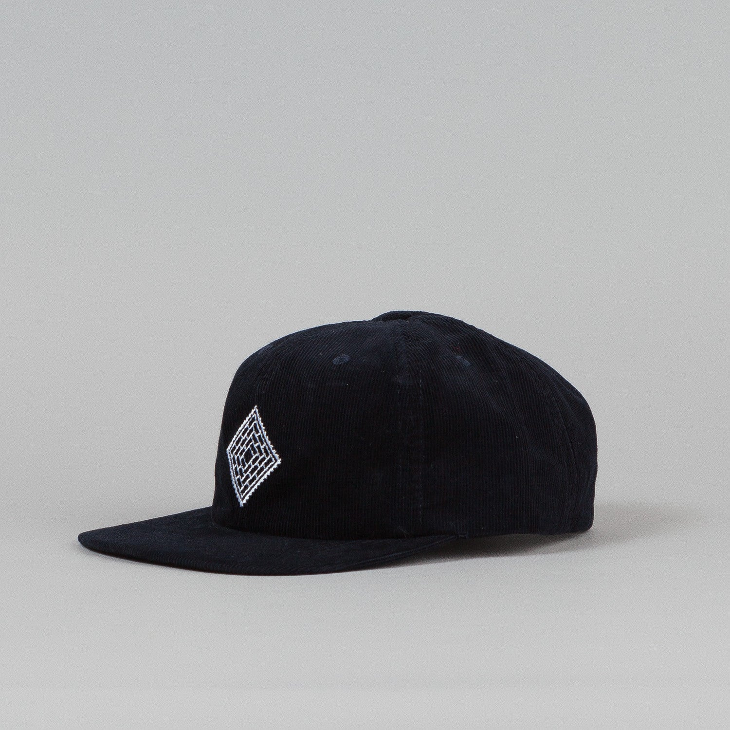 The National Skateboard Co X Post 6 Panel Cap Navy