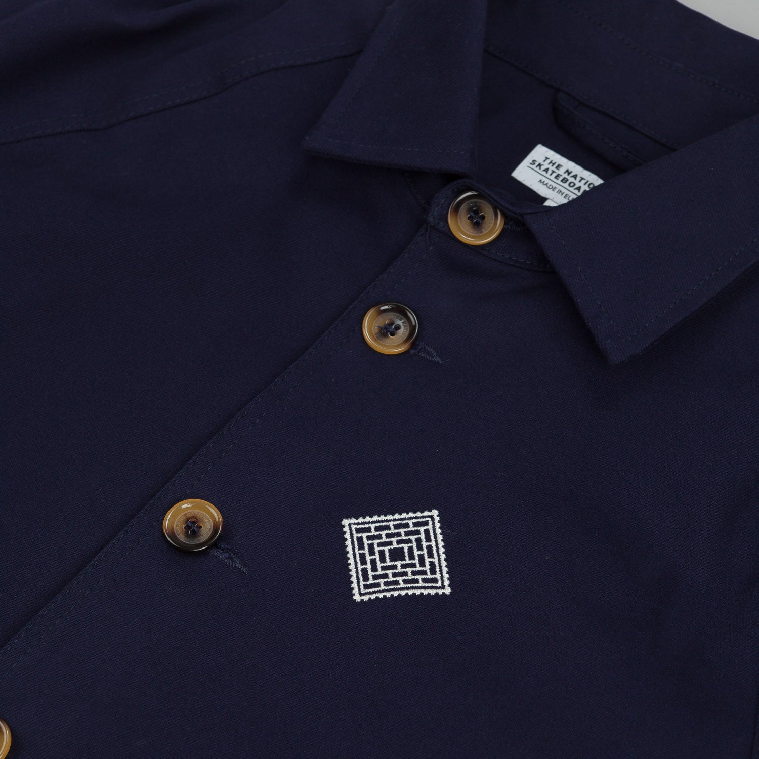 The National Skateboard Co X Post Coach Jacket Navy