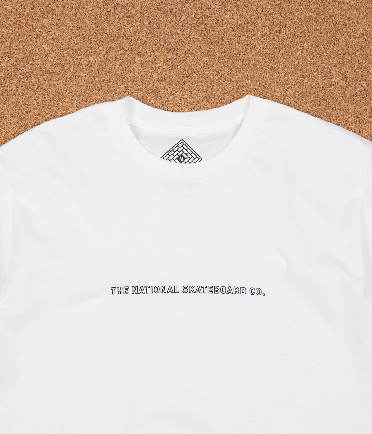 The National Skateboard Company Classic T-Shirt - White