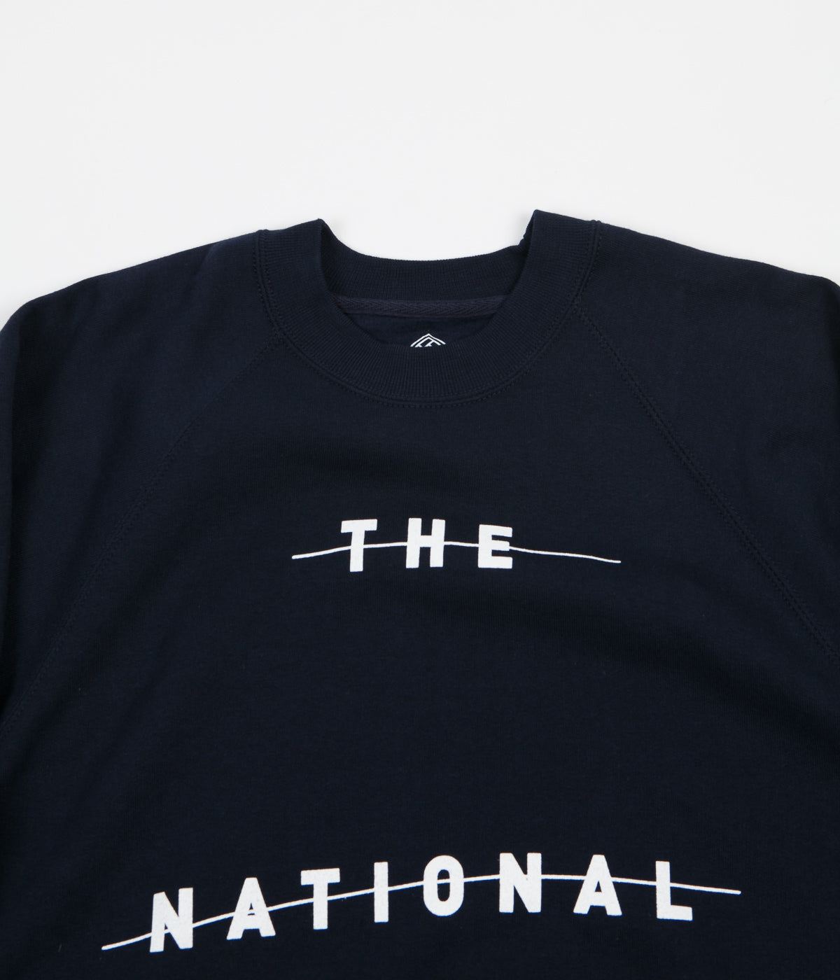 The National Skateboard Company Redacted Crewneck Sweatshirt - Navy