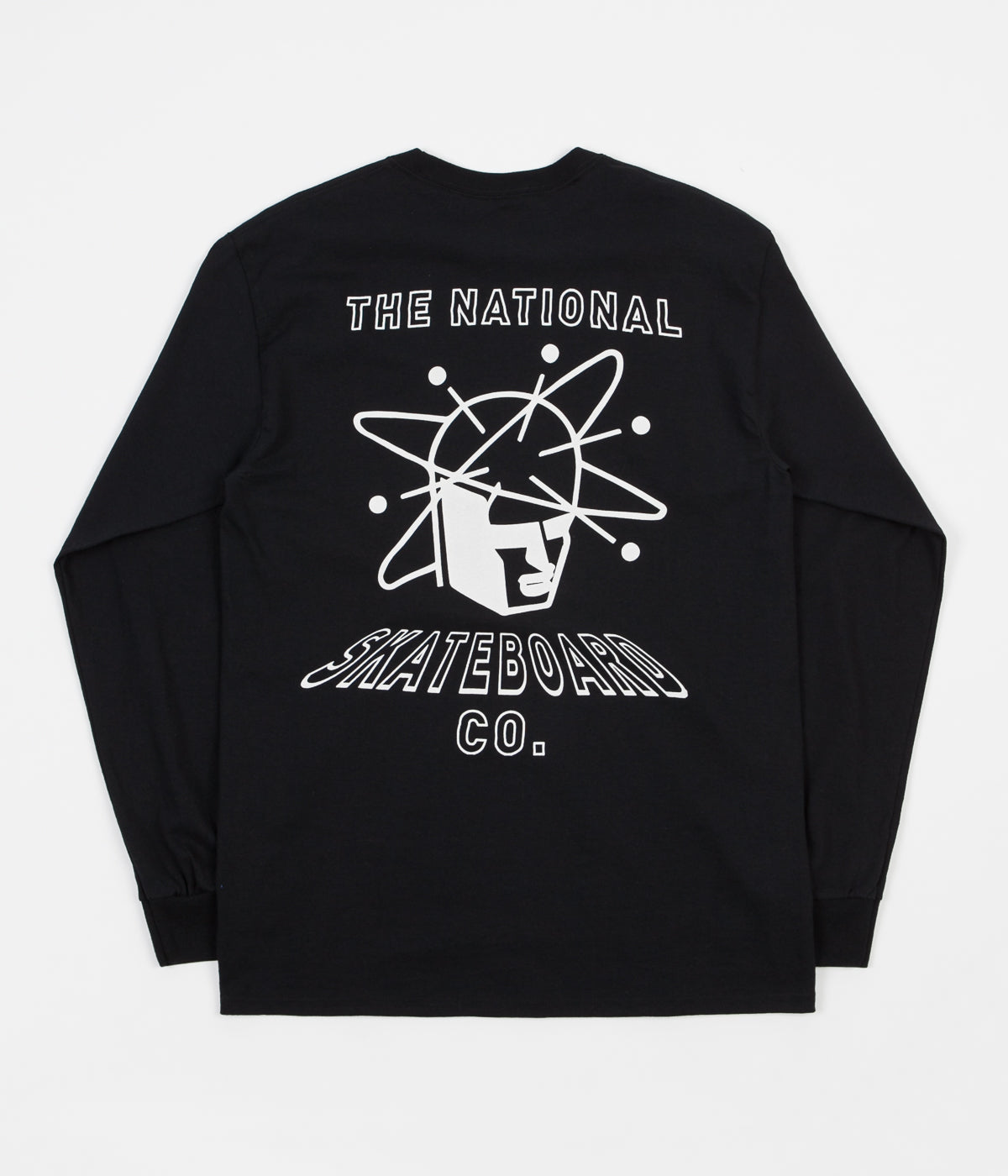 The National Skateboard Company Spin Long Sleeve T-Shirt - Black
