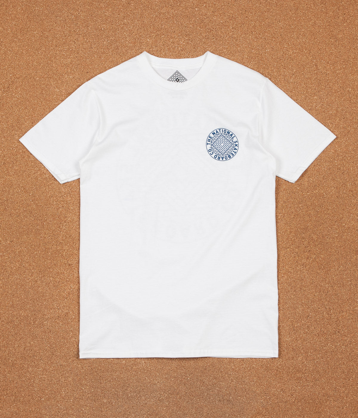 The National Skateboard Company Union T-Shirt - White