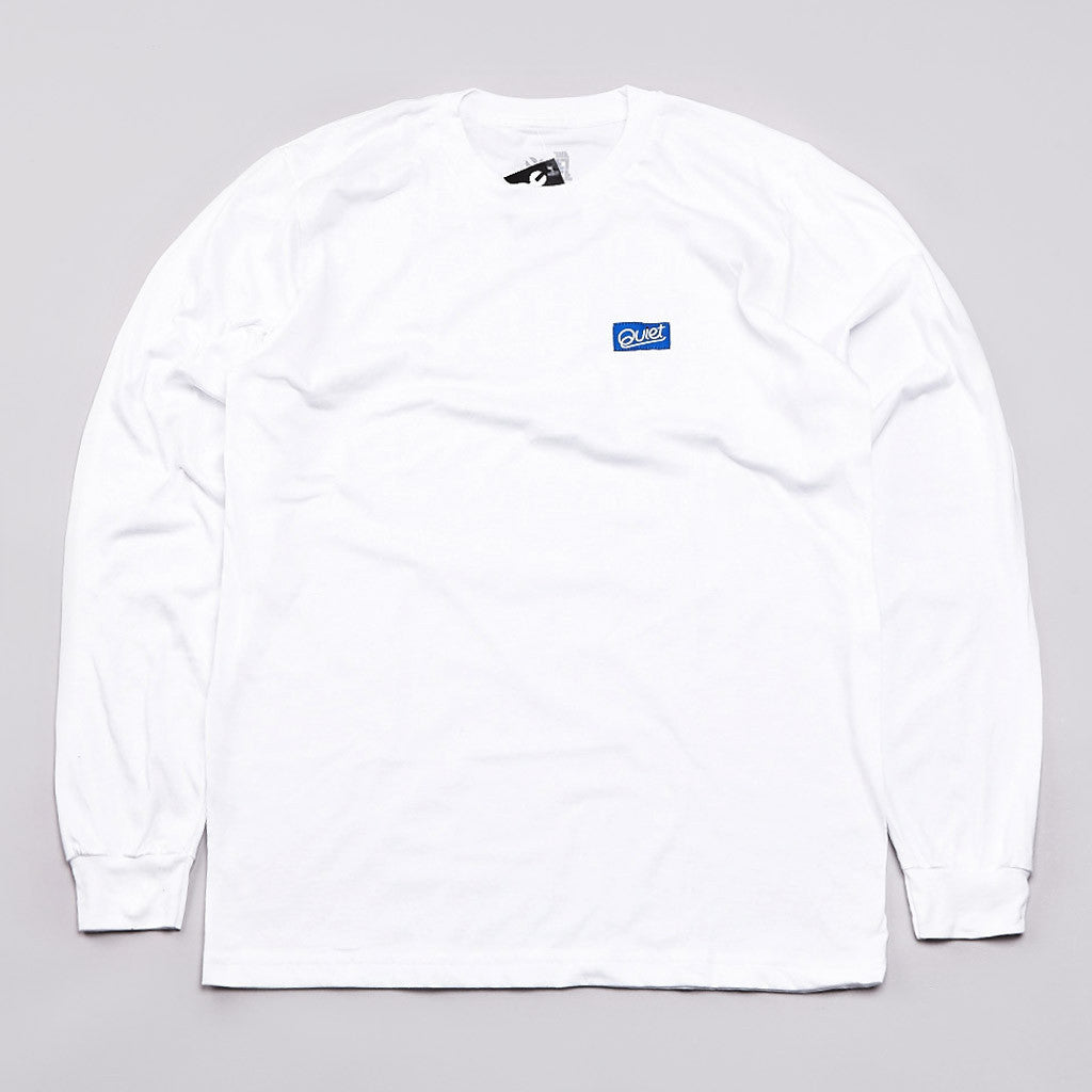The Quiet Life Patch L/S T Shirt White