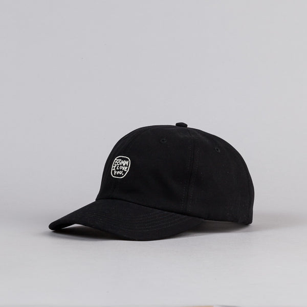 The Quiet Life 35mm Polo Cap - Black
