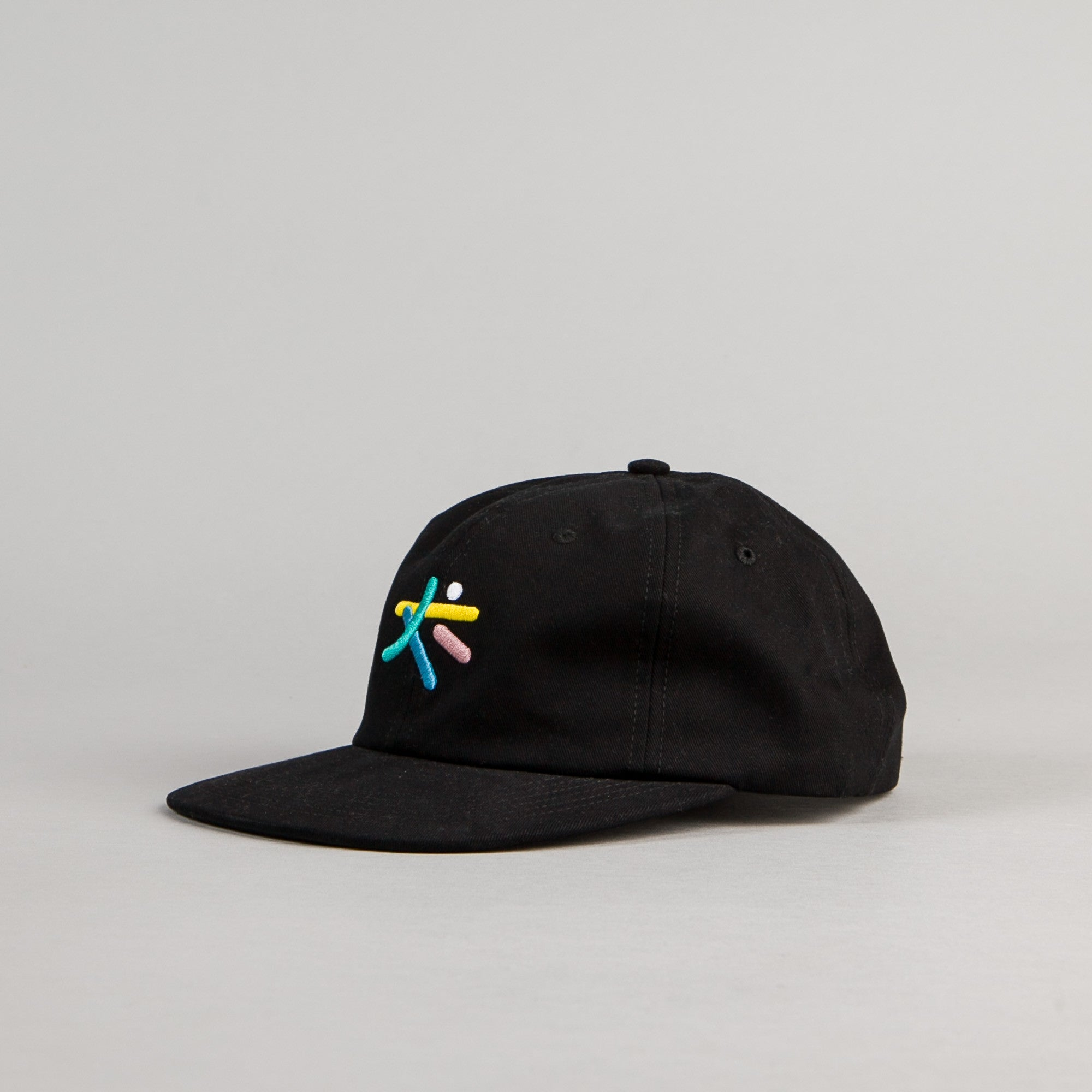 The Quiet Life Arrangement Polo Cap - Black
